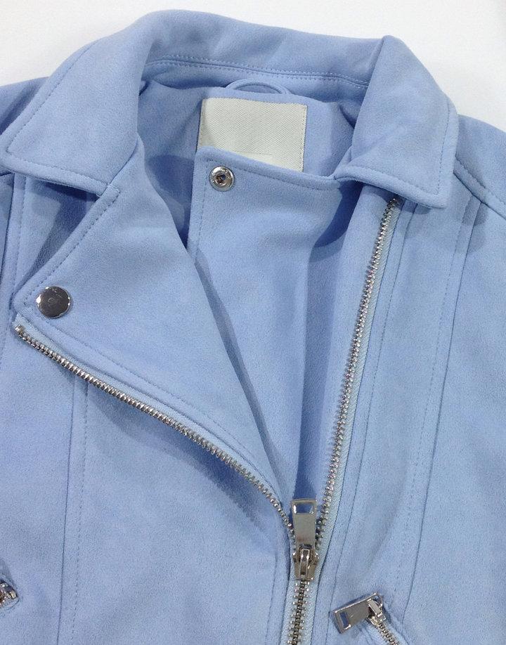 4399af3dd7 River Island kék velúrszerű kislány kabát River Island kék velúrszerű  kislány kabát ...
