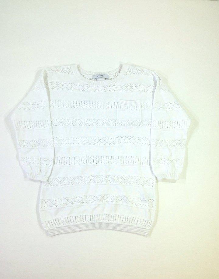 George könnyű kötött pulóver