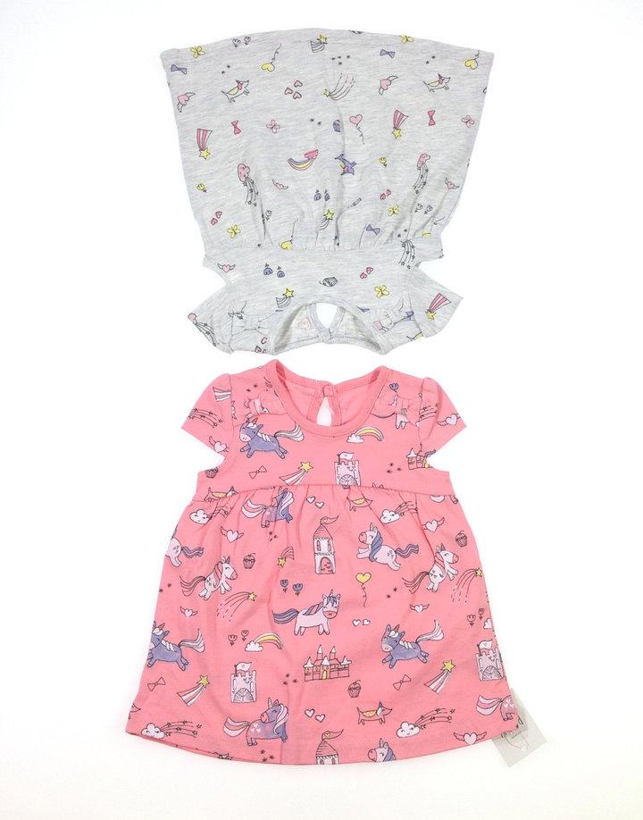 3c808153d3 George két darab mintás baba ruha   Gyerekruha Klub