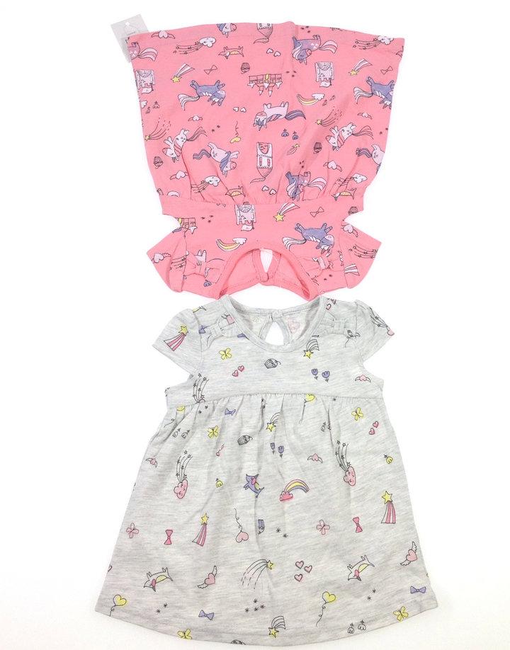 d92763cc23 George két darab mintás baba ruha | Gyerekruha Klub