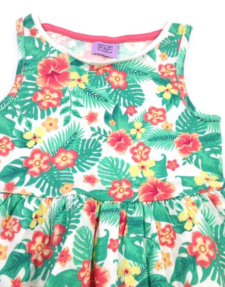 9e25334bd7 F&F virágmintás kislány ruha F&F virágmintás kislány ruha