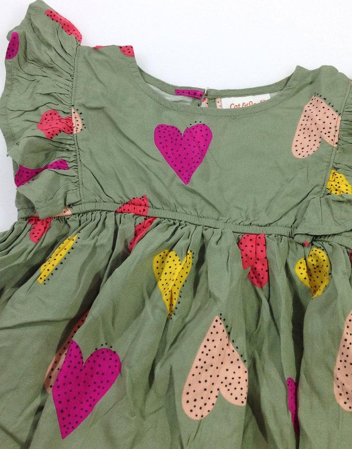 3d3760d209 Cat & Jack szivecskés kislány ruha Cat & Jack szivecskés kislány ruha