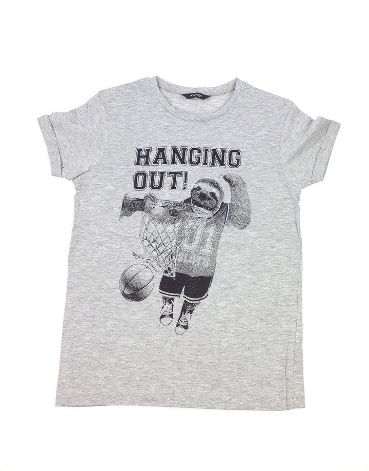 c21b135bf0 George kosárlabda mintás fiú póló | Gyerekruha Klub
