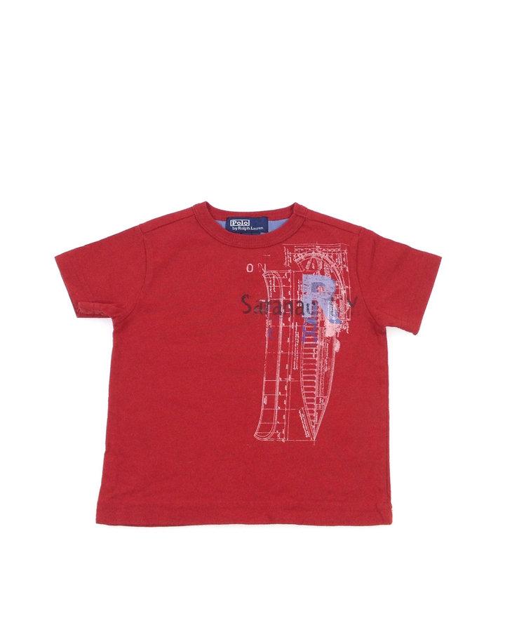 4e87c7ee31 Ralph Lauren hajó mintás kisfiú póló | Gyerekruha Klub