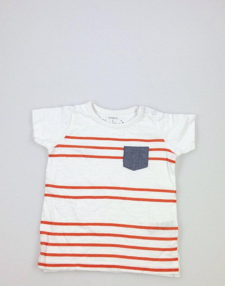 9612ffa590 Pep&Co narancssárga csíkos kisfiú póló | Gyerekruha Klub