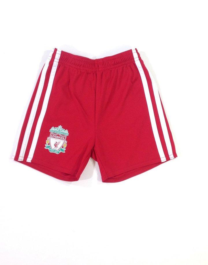 Adidas nyomott Liverpool mintás rövidnadrág