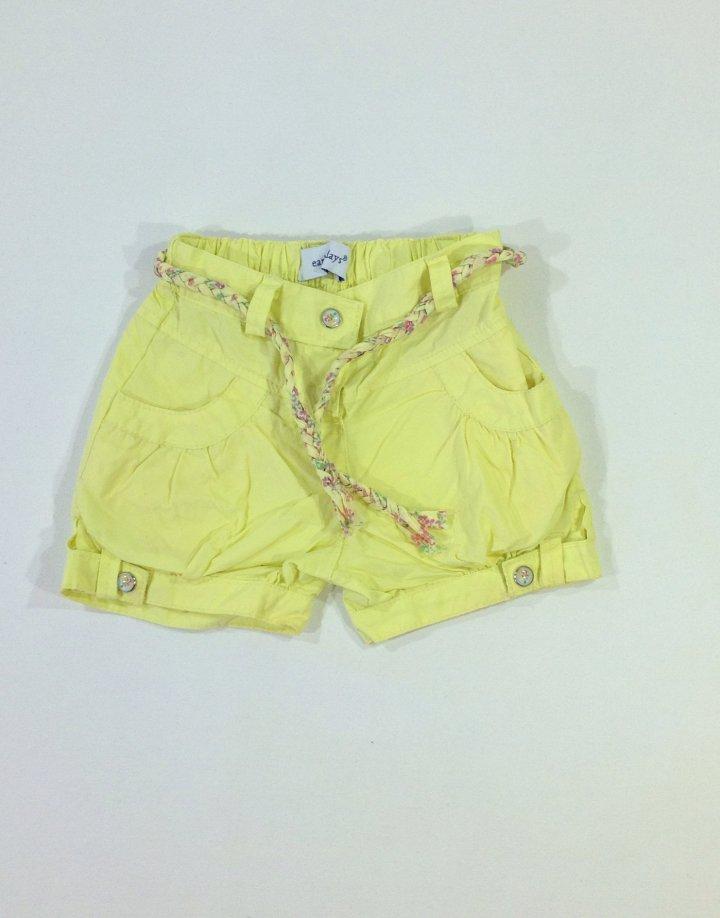 Early days citromsárga baba rövid nadrág