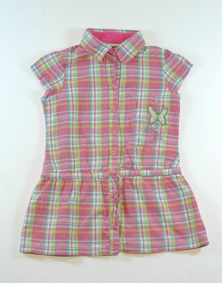 NEXT kockás nyári ruha