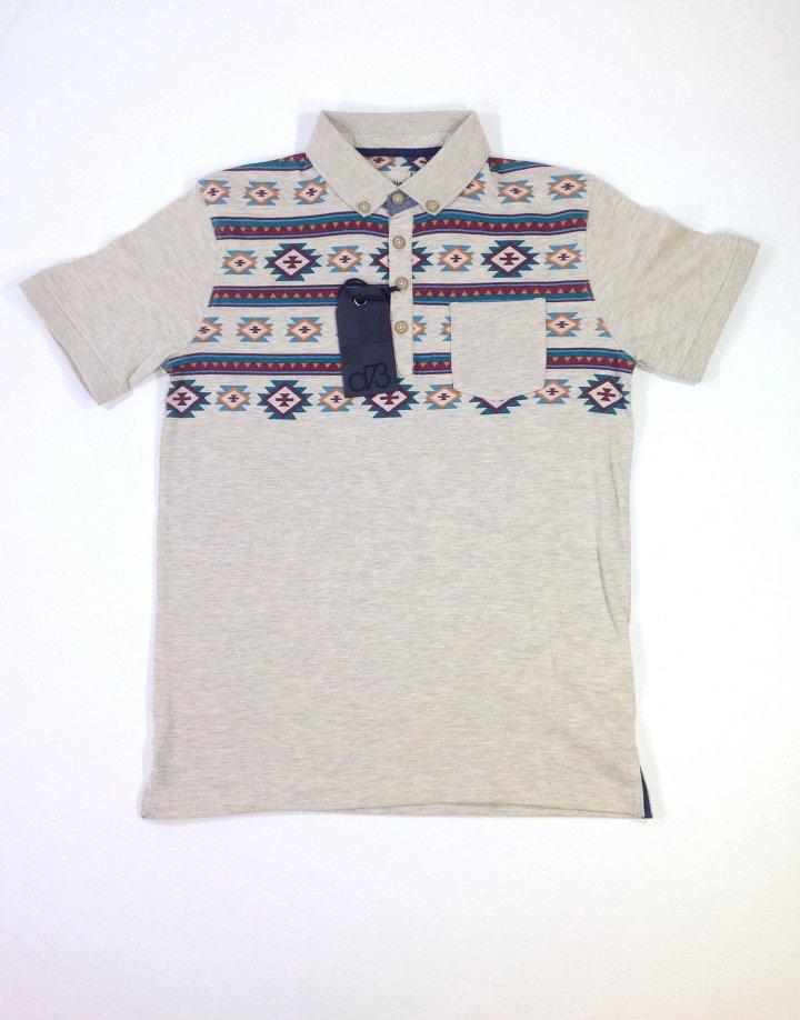 Denim 73 norvég mintás fiú póló