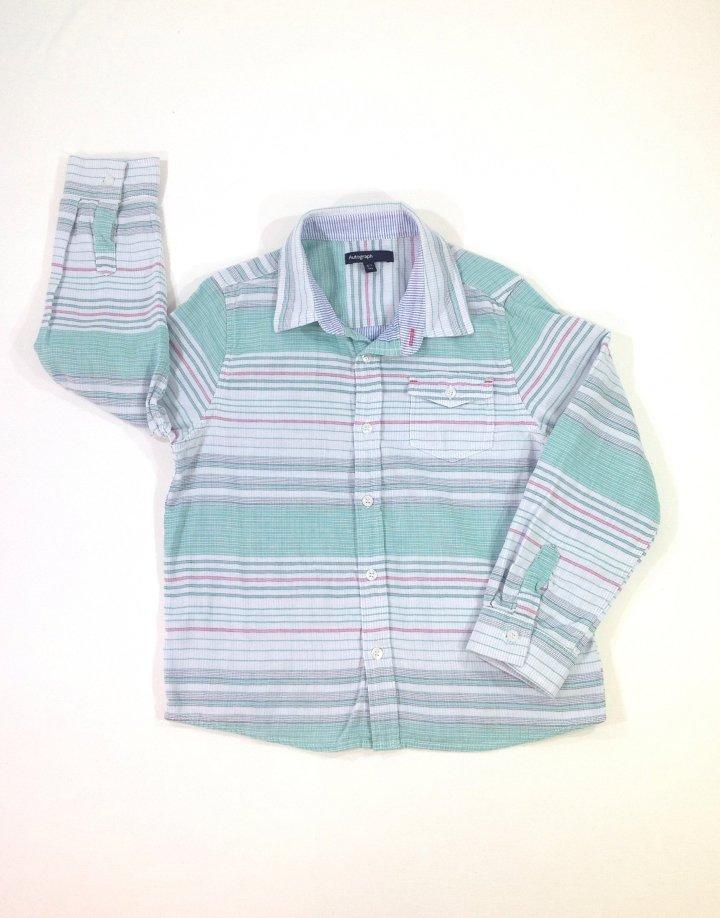 Marks&Spencer csíkos fiú ing