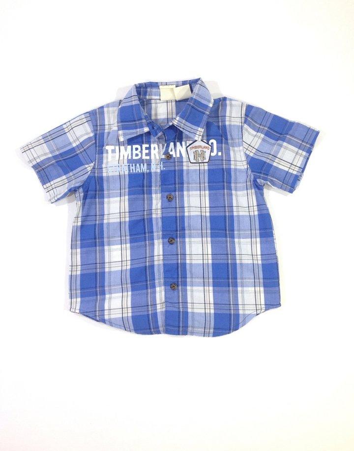 Timberland kék kockás fiú ing