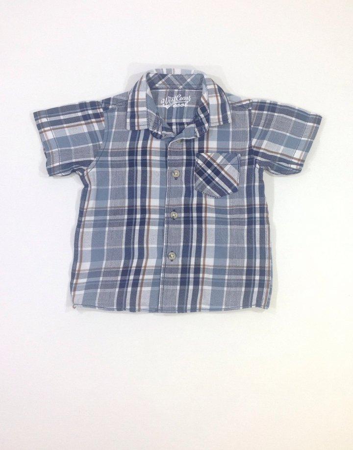 Matalan könnyű anyagú rövid ujjú ing