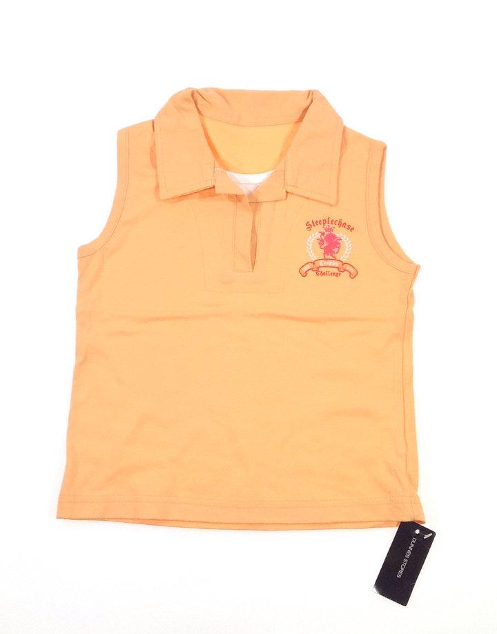Narancssárga ujjatlan felső