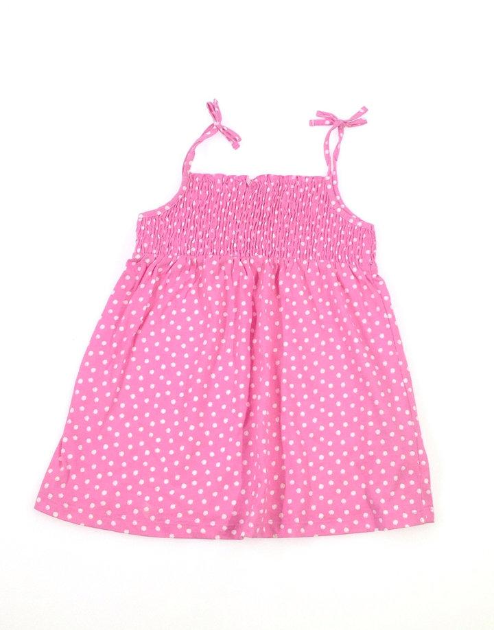 Rózsaszín pöttyös kislány top