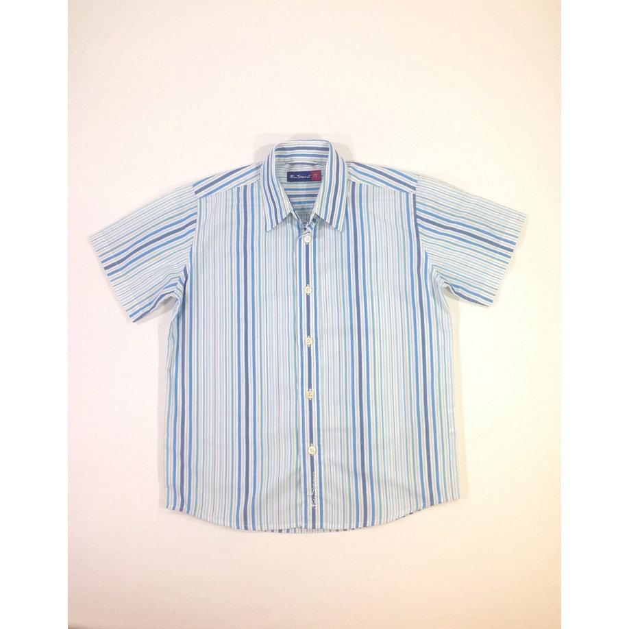 Ben Sherman kék csíkos fiú ing