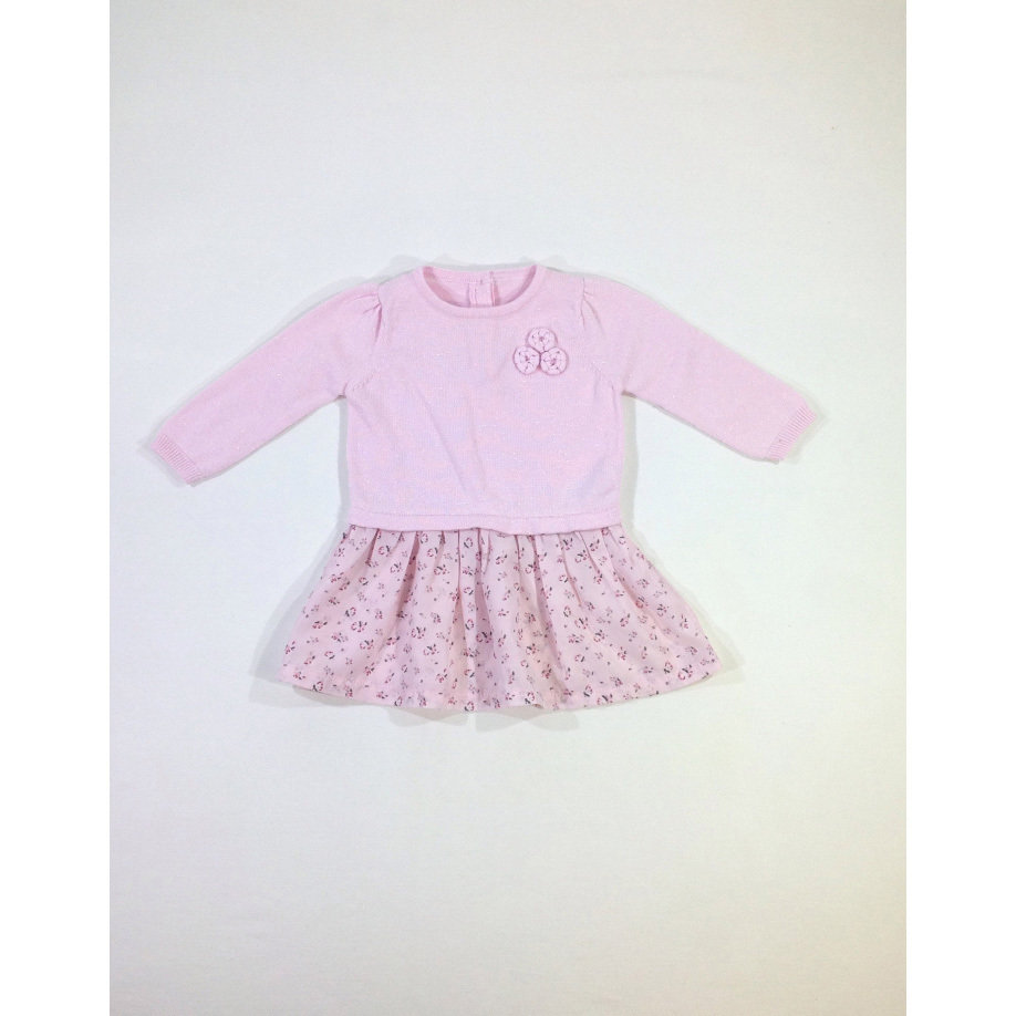 Matalan virágos baba ruha