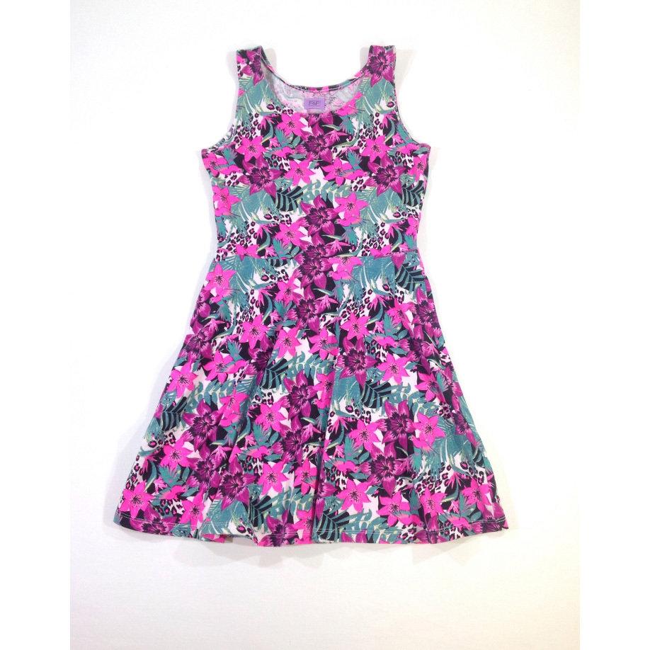 F&F virág mintás nyári kisruha