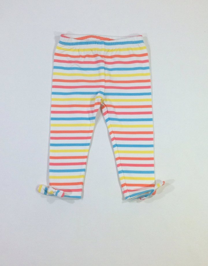 Nevada színes csíkos baba leggings