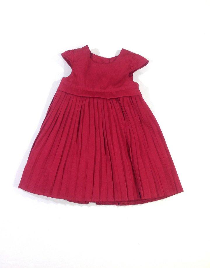 Mothercare szatén alkalmi baba ruha