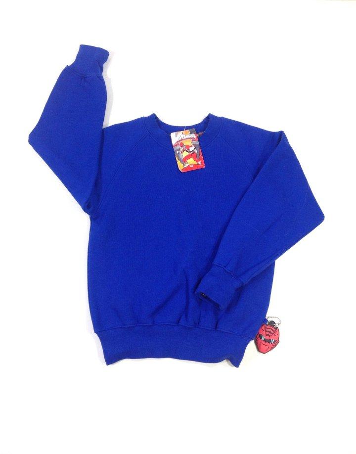 Power Rangers kék kisfiú pulóver   21236fb680