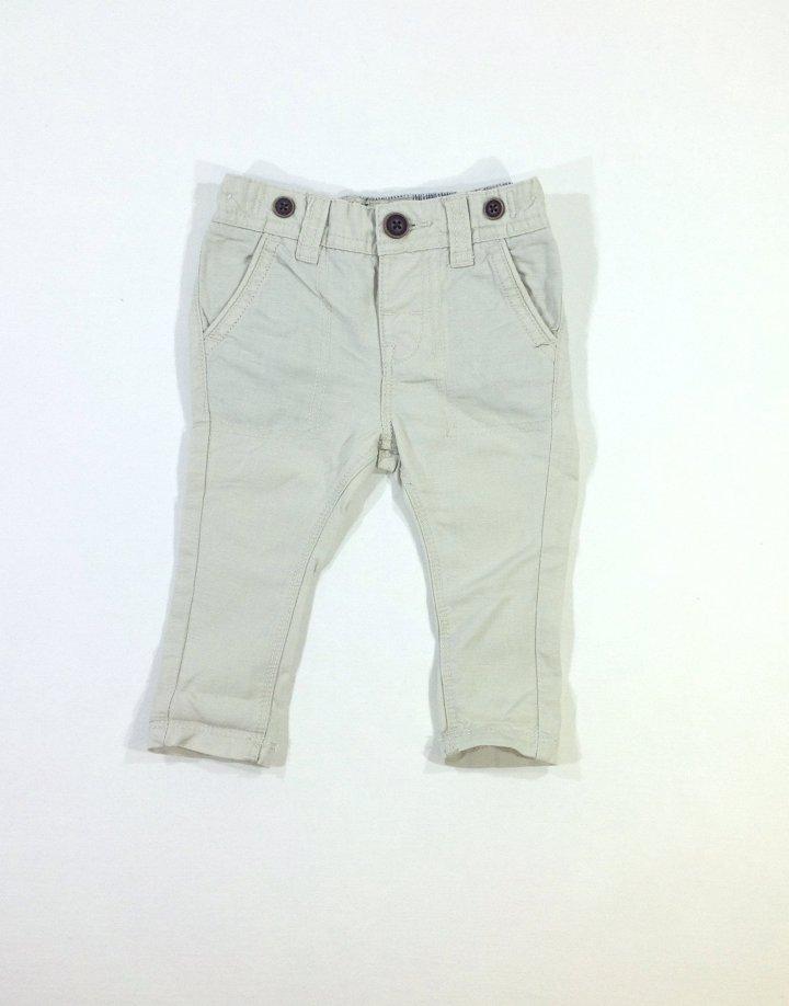 Next vajszínű baba vászon nadrág   e71310a5d5