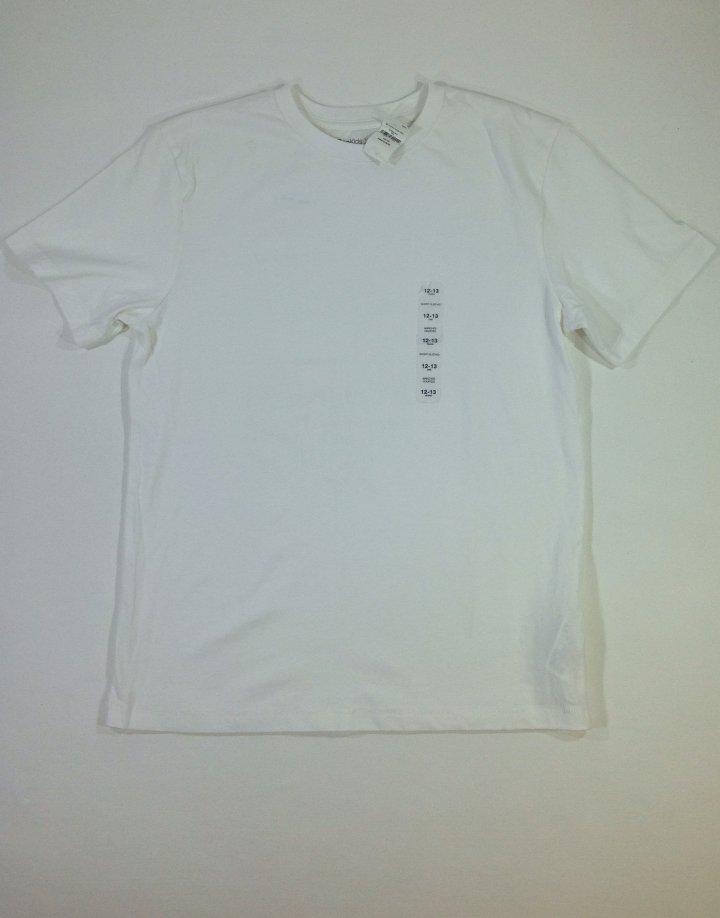 Gap fehér pamut fiú póló   5380bd8db9