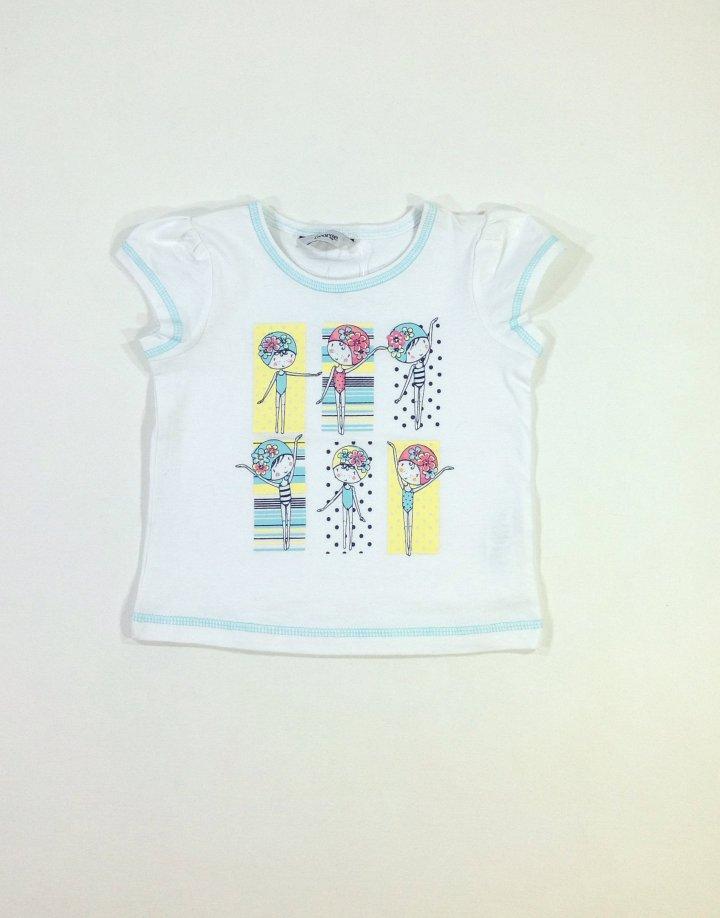 George kislány mintás baba póló