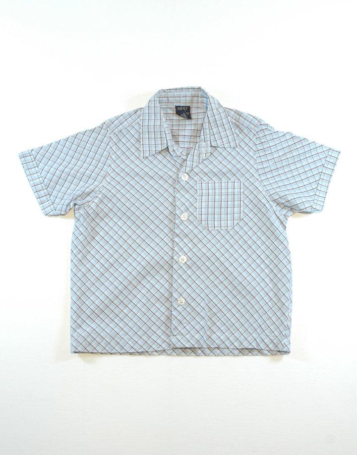 NEXT kockás fiú ing