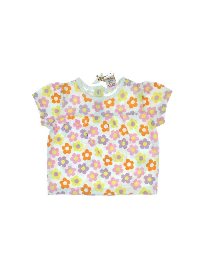Adams virág mintás póló