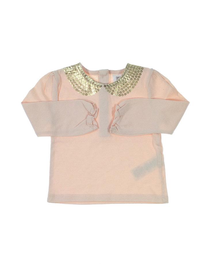 F&F baba halvány rózsaszín felső