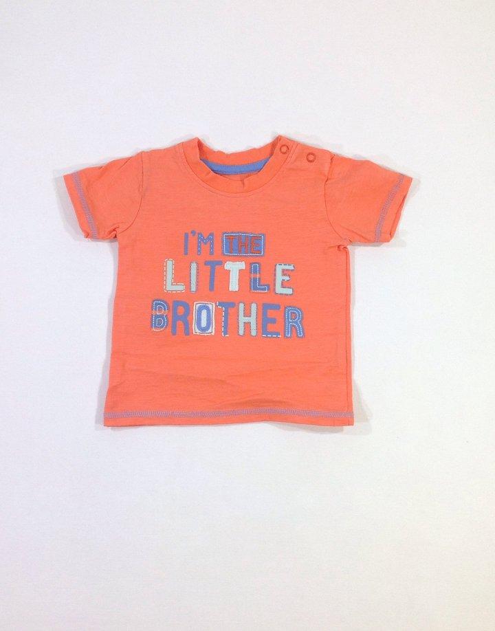 George nyomott feliratos baba póló