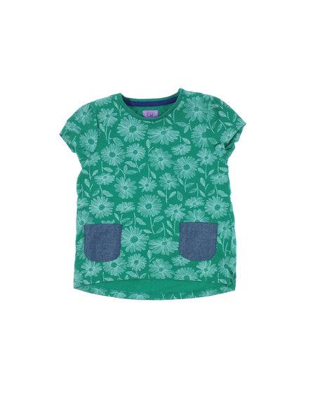 V by very zöld színű lány télikabát | Gyerekruha Klub