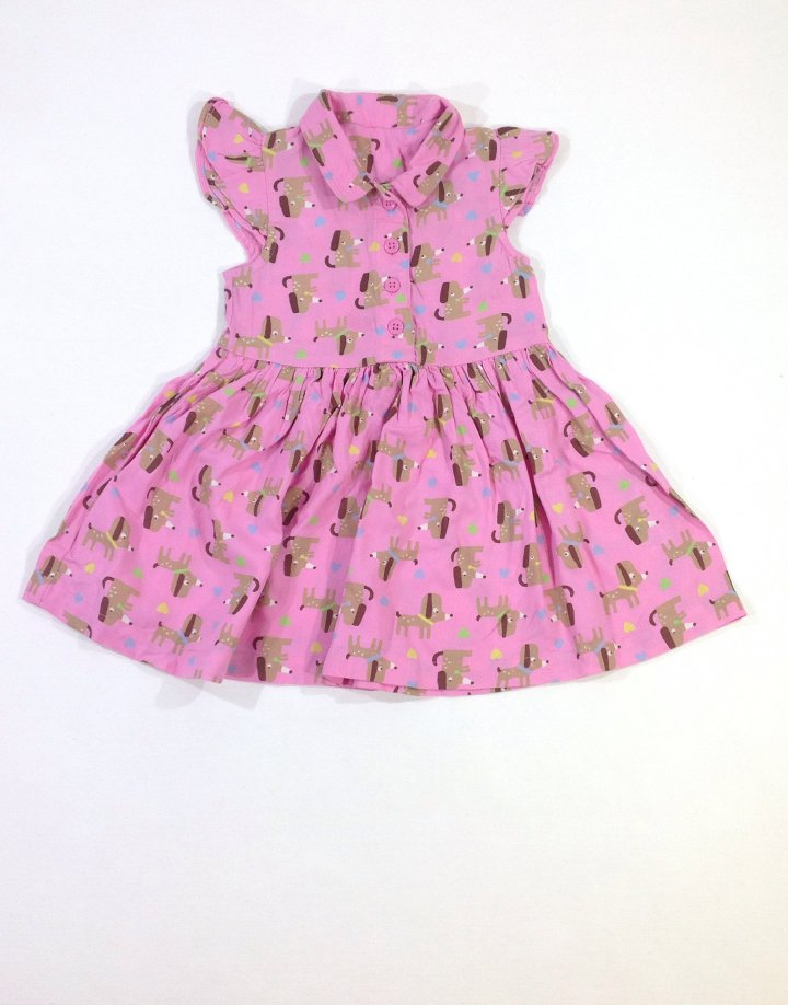 George kutyusos kislány ruha