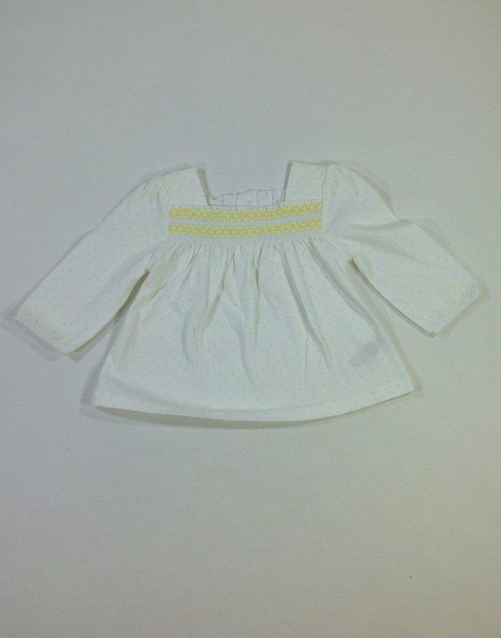 St. Bernard pöttyös baba tunika