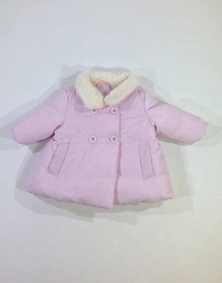 Next rózsaszín baba télikabát