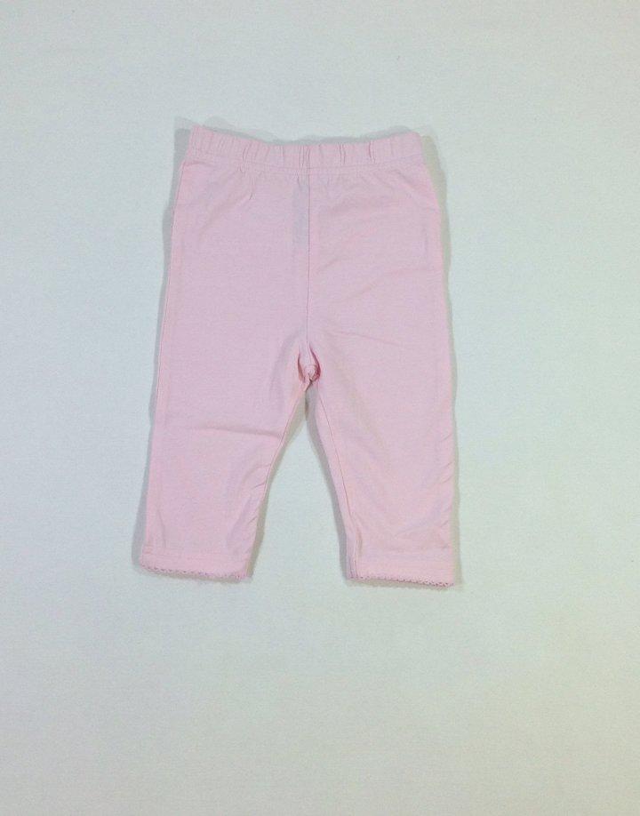 George halvány rózsaszín baba leggings