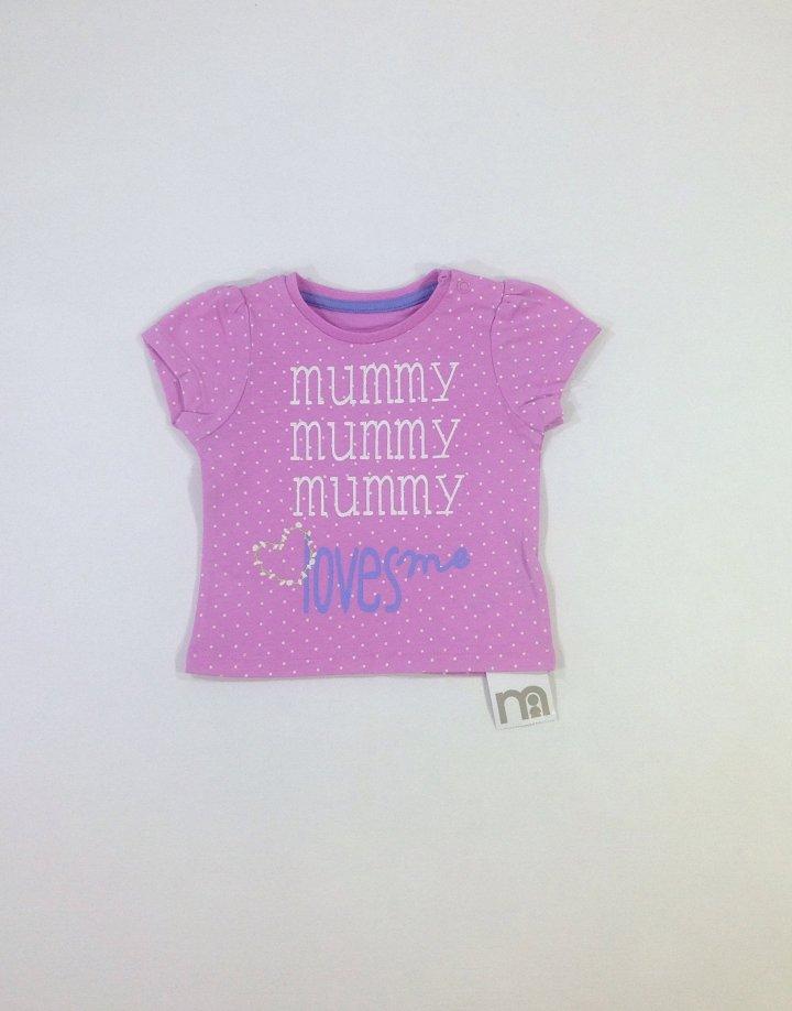 Mothercare pöttyös baba póló