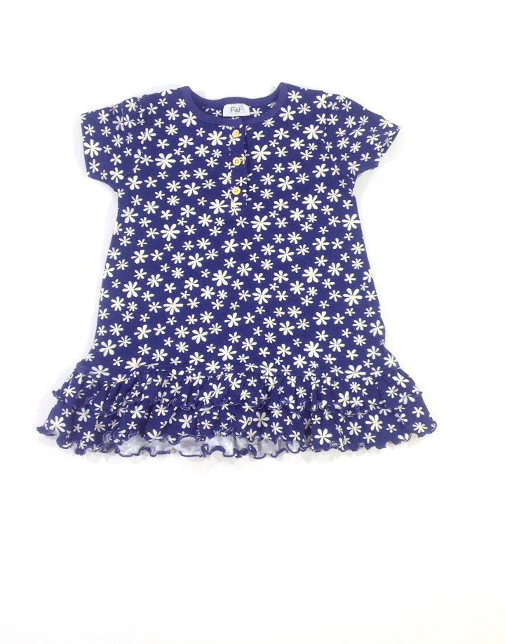 F&F virág mintás baba ruha