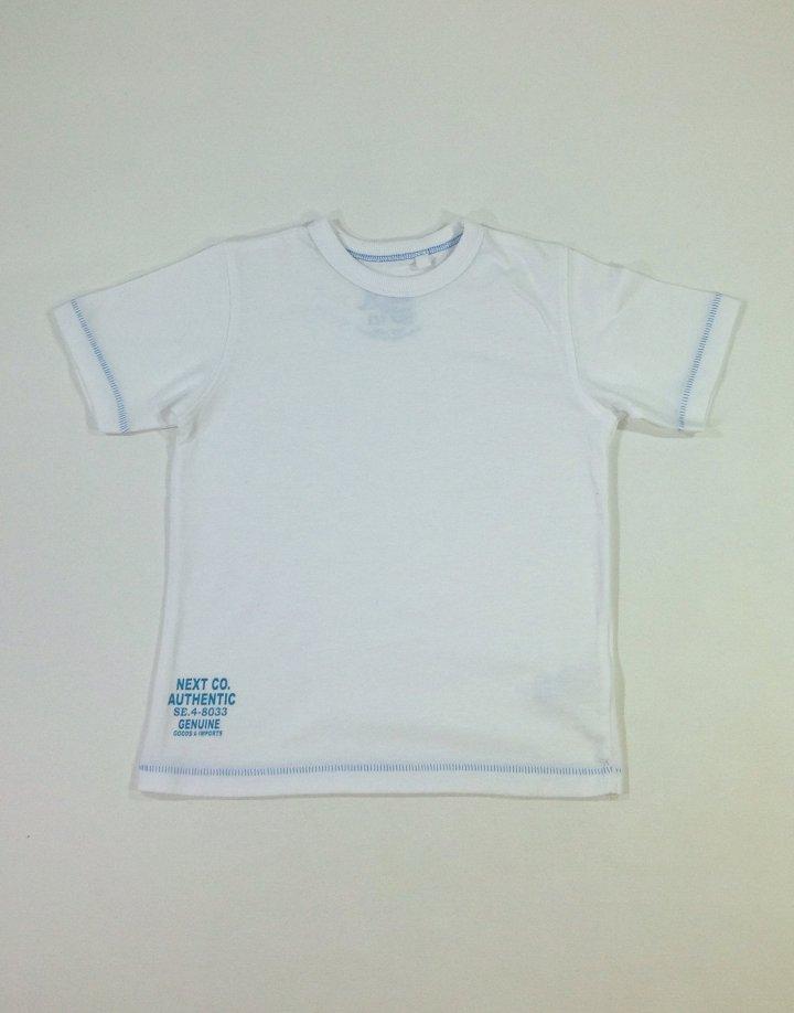 Next fehér kisfiú póló