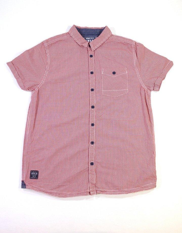 Demo apró kockás fiú ing