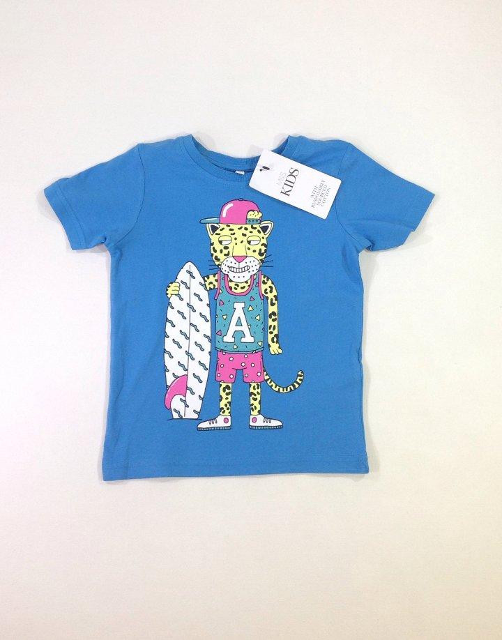 Marks&Spencer szörfös kisfiú póló