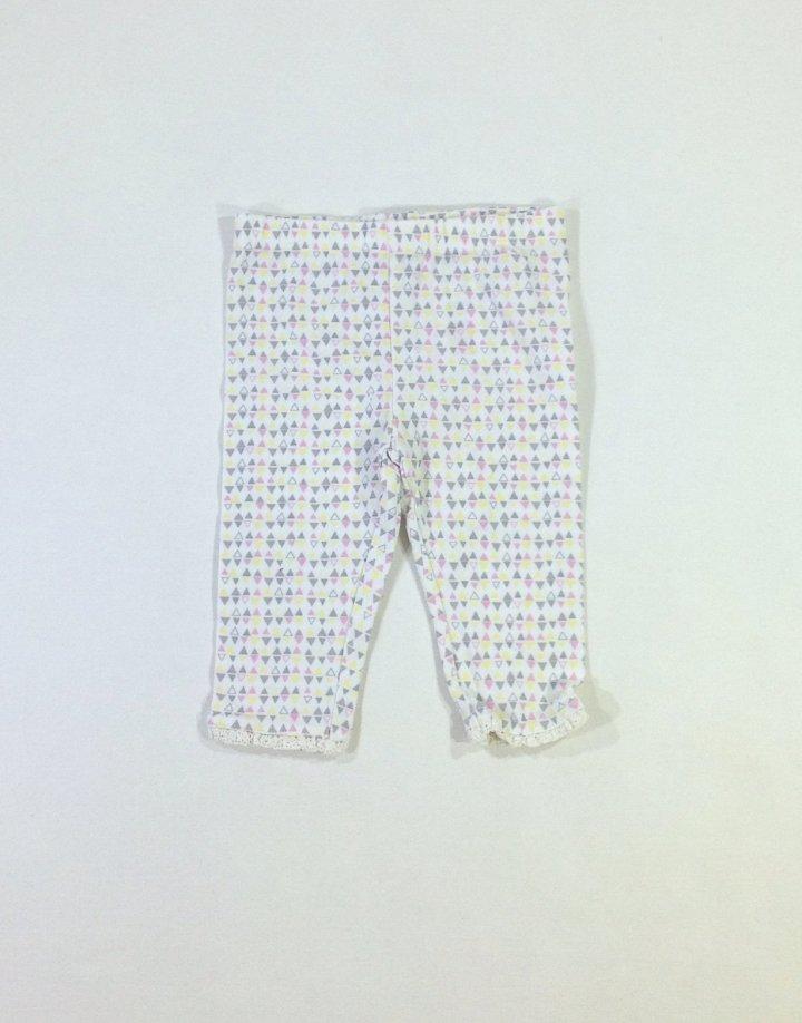 F&F színes mintás baba leggings