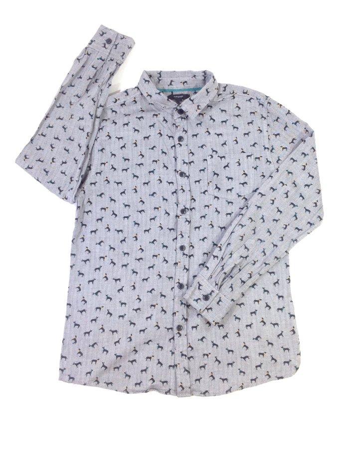 Marks&Spencer kutya mintás fiú ing