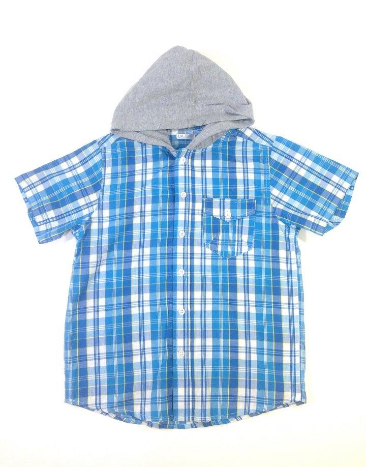 UA kék kockás fiú ing