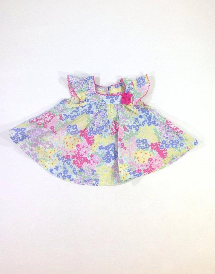 Monsoon apró virág mintás baba ruha