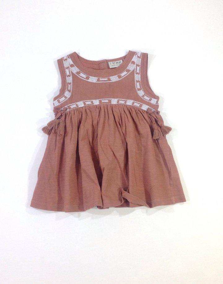 Next barna kislány ruha