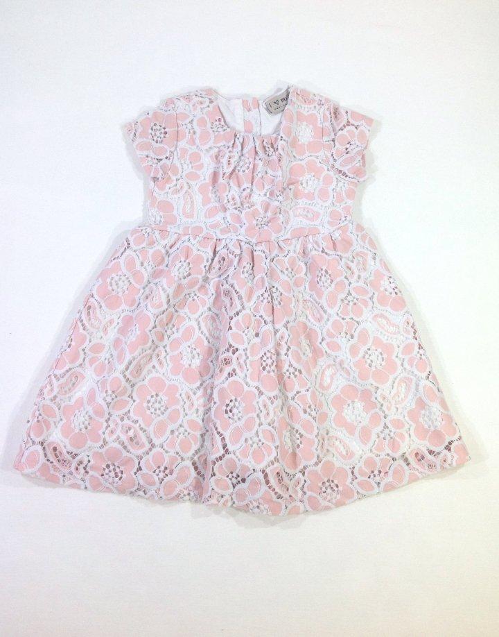 Next barackvirág színű kislány alkalmi ruha   56cc6d718e