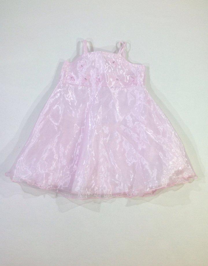 Szitakötő mintás halványrózsaszín baba alkalmi ruha   63a1d23bd4