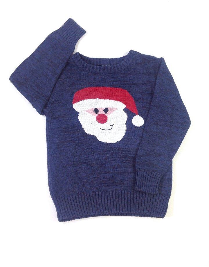 Next Mikulás mintás kisfiú pulóver