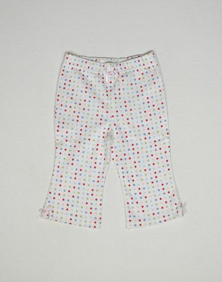 Pöttyös pizsama alsó